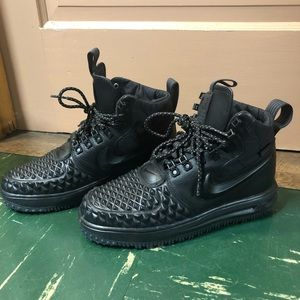 NIKE AF1'S Spiked Duck Boots
